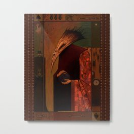 The Deathbird Metal Print