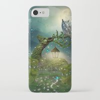 bebop iPhone & iPod Cases featuring Keeper of the Enchanted - Spring Thaw by soaring anchor designs
