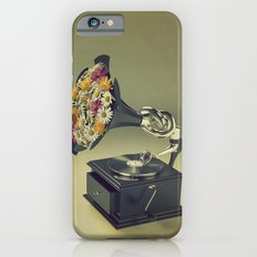 put some flowers in your guns iPhone 6s Slim Case