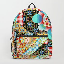 Bricolage Patchwork Quilt Backpack