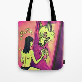 The Monsters Inside Tote Bag
