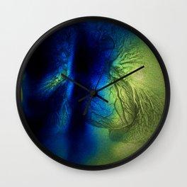 Wonder of breath/Choke Wall Clock