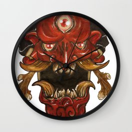 burado oni Wall Clock