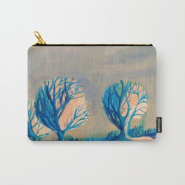 Lighted trees Carry-All Pouch