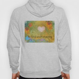 Guitar Flowers Kind and Forgiving Hoody