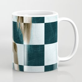 Survive Nude Woman Checkered 1 Coffee Mug