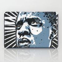jay z iPad Cases featuring Jay-Z by Hans Poppe