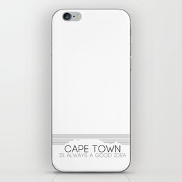 Cape Town is always a good idea. iPhone Skin