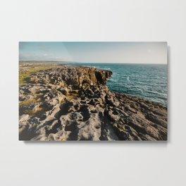 The Burren Metal Print