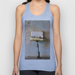 Rusted Sink Unisex Tank Top