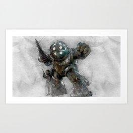 BioShock 1 Art Print