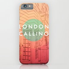 Songs and Cities: London Calling iPhone 6s Slim Case