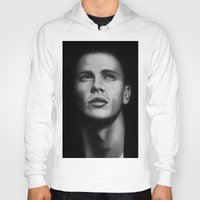 james franco Hoodies featuring James Franco by Emma Porter