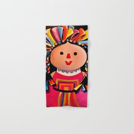 MEXICAN MARIA DOLL*** Hand & Bath Towel