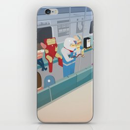 The Nick Yorkers in January iPhone Skin