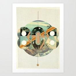 808 State Art Print