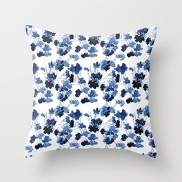 Floral Spindle Pattern Throw Pillow