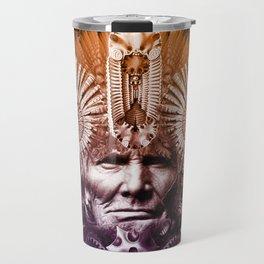 Psychedelic Shaman Travel Mug