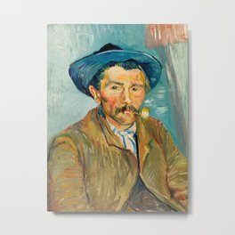 Vincent Van Gogh - The Smoker Metal Print