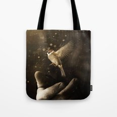Go on be free Tote Bag