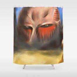 The Colossal TITAN - Shingeki no Kyojin Shower Curtain