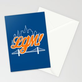 Let's Go Mets Stationery Cards