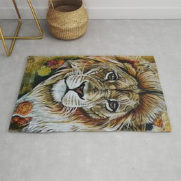 Beauty Lion Rug