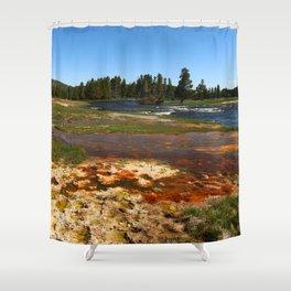 Firehole River Colors Shower Curtain