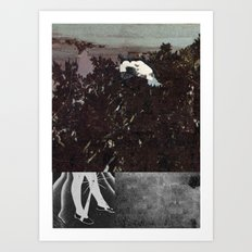 End of Part One  Art Print