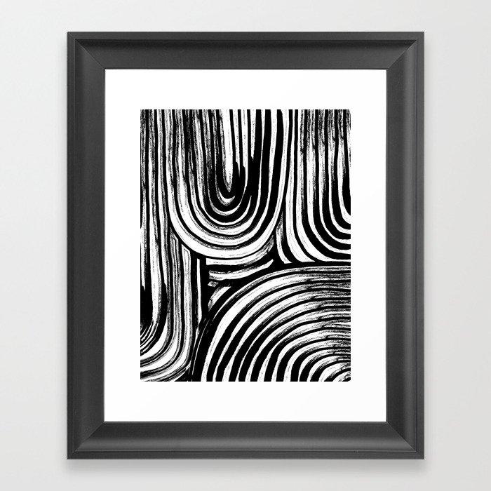 Lines No. 2 Framed Art Print