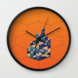 Geomeric Playgrond 03 Wall Clock