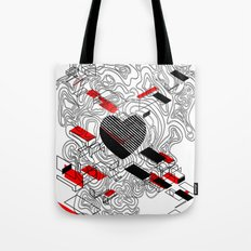 map of my heart Tote Bag