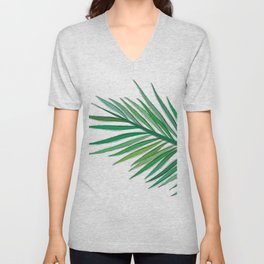 Leaves - drawing Unisex V-Neck