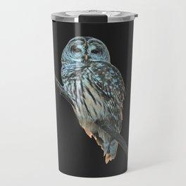 Owl, See the Moon Travel Mug