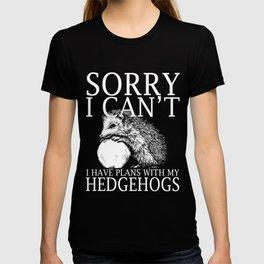 Hedgehogs Funny Shirt T-shirt