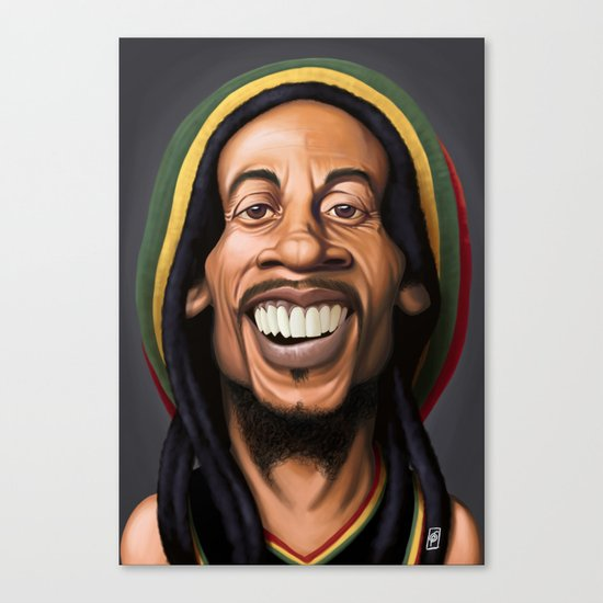 Celebrity Sunday - Robert Nesta Marley Canvas Print