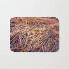 autumn grass Bath Mat