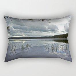 Loch Garten, Scotland.  Rectangular Pillow