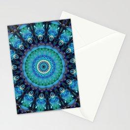 Jewel Of The Ocean Mandala Stationery Cards