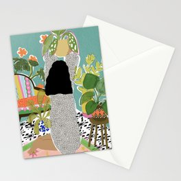 Jungle Queen Stationery Cards