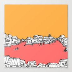The Water Village Canvas Print