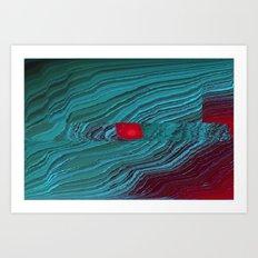 helix_eye Art Print