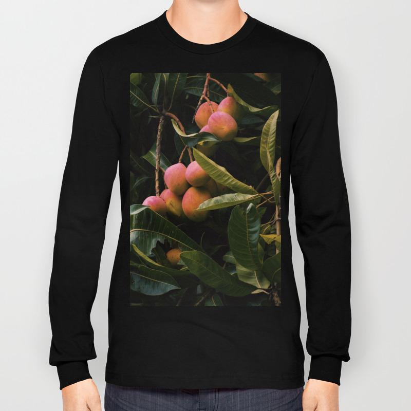 Mango tree Long Sleeve T shirt by carolmaia | Society6