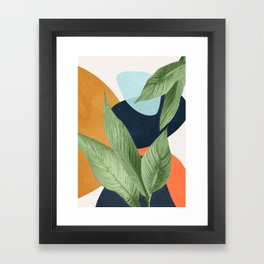 Nature Geometry VIII Framed Art Print