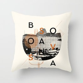 Bossa Nova Throw Pillow
