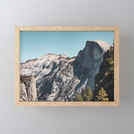 Yosemite Valley I - Half Dome Framed Mini Art Print