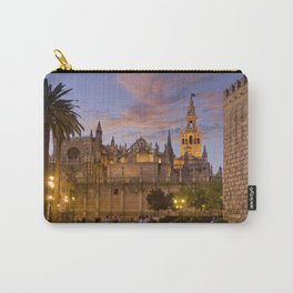 Seville, The Cathedral at dusk Carry-All Pouch