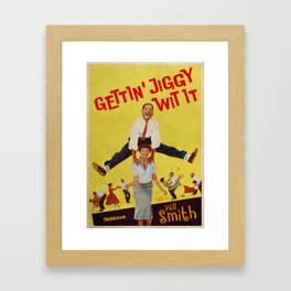 Jiggy Framed Art Print