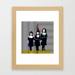 sœurs japonais Framed Art Print