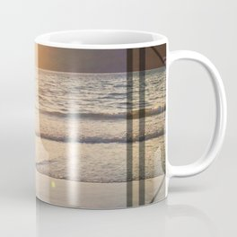 Port Erin - square diamond graphic Coffee Mug